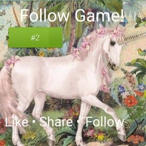Other - Follow Game. Lets grow followers together